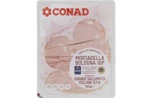 Conad richiama mortadella Bologna Igp per presenza di Listeria monocytogenes