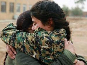 Foto da Facebook (Internationalist Commune of Rojava).