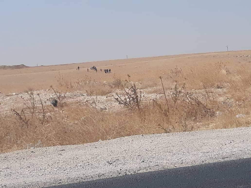 Donne dell'Isis in fuga dal campo di Ain Issa (Rojava information center)