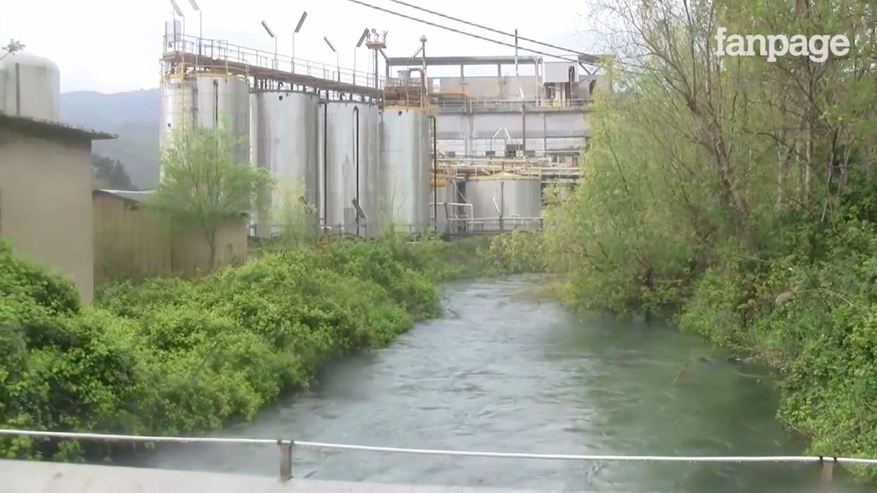 Nel fiume Tirino veniva sversata fino ad una tonnellata di sostanze tossiche al giorno