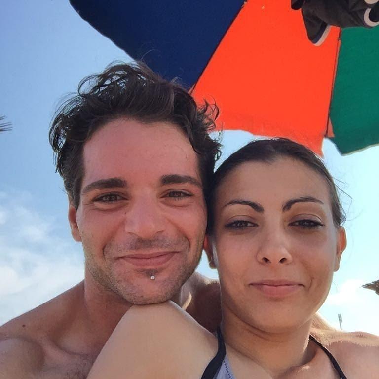Una foto della coppia