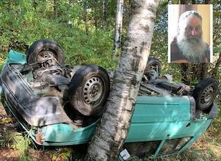 Maltempo, finisce nel burrone con l'auto: riesce a risalire in strada, ma muore per infarto