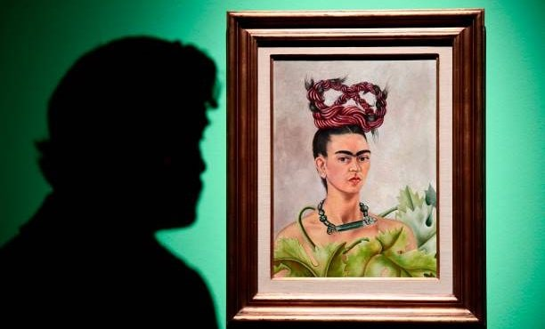 Frida Kahlo in mostra a Roma.