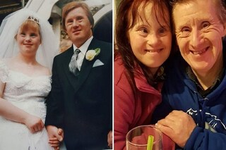 """Coppia con la sindrome di Down festeggia 24 anni di matrimonio: """"La loro storia è una favola"""""""