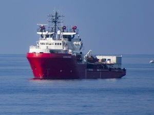 Ocean Viking salva altri 16 migranti Mediterraneo bordo della nave sono 180 persone