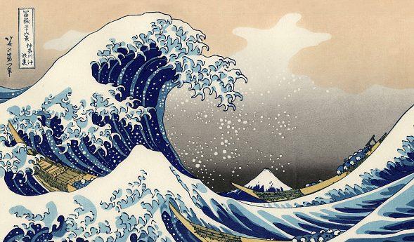 L'Onda di Hokusai sarà in mostra al Lucca Comics & Games 2019.