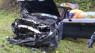 """""""Cara sto male"""", si schianta con l'auto a Bolzano e muore in diretta al telefono con la moglie"""
