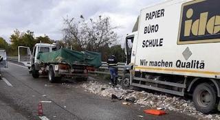 A14, terribile scontro sul raccordo Ascoli Mare: muoiono due camionisti