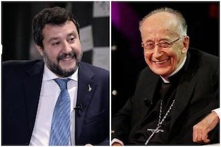 """Il cardinale Ruini difende Salvini: """"Non condivido sua immagine negativa, con lui dialogo doveroso"""""""
