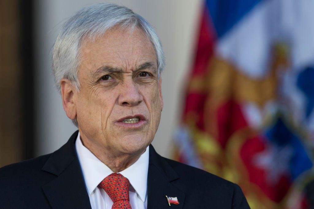 Il presidente del Cile, Sebastián Piñera (Gettyimages)