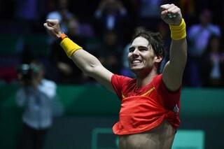 Tennis, la Spagna batte il Canada e vince la Coppa Davis 2019
