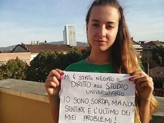 Giusy, studentessa sorda, ha vinto la battaglia: potrà laurearsi grazie a un software per non udenti