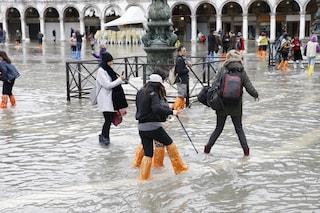 Maltempo, temporali e neve sull'Italia. Allerta rossa in Veneto