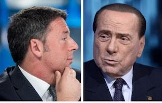 """Berlusconi su Renzi: """"Distanza assolutamente incolmabile tra noi liberali e la sinistra"""""""