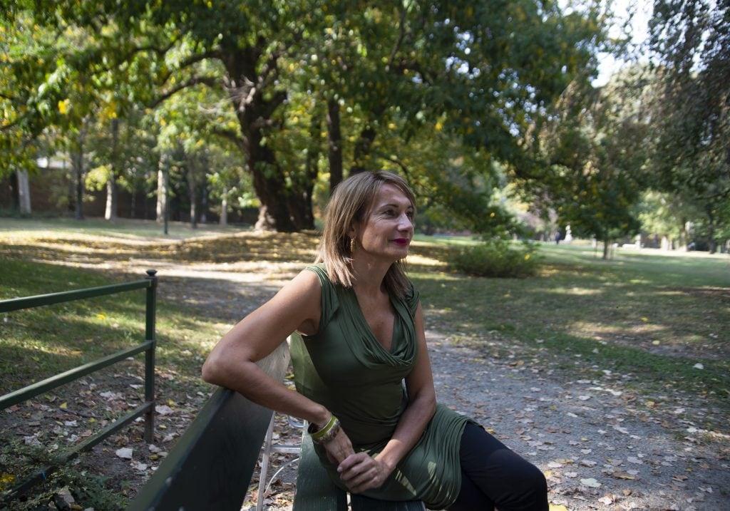 """Anche Vladimir Luxuria, neo direttrice della storica rassegna LGBTQI+ """"Lovers Film Festival"""" di Torino, è parte del progetto fotografico """"Trans of Turin""""."""