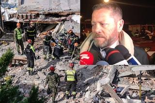 """Sisma Albania, il console: """"Noi senza esperienza, pompieri italiani avrebbero salvato più vite"""""""