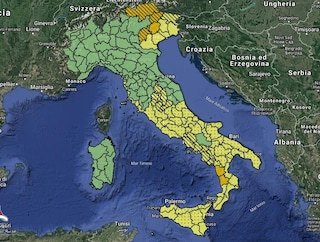 Meteo 9 novembre: allerta arancione Veneto, Calabria e Trentino