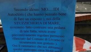 """Livorno, nel locale """"Stuzzicheria Di Mare"""" un cartello che offende i disabili: è polemica"""