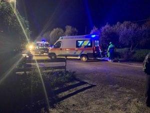 Incidente a Ceciliano, in provincia di Arezzo (Facebook).