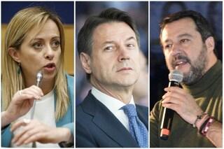 """Salvini e Meloni attaccano Conte: """"complotti e tradimento"""" sulla riforma europea del Mes"""