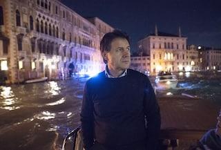 """Conte da Venezia: """"Oggi dichiareremo lo Stato di emergenza per la città: fondi arriveranno subito"""""""