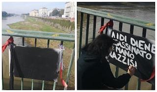 Firenze, vandalizzata la targa dedicata a Idy Diene, senegalese ucciso da Roberto Pirrone