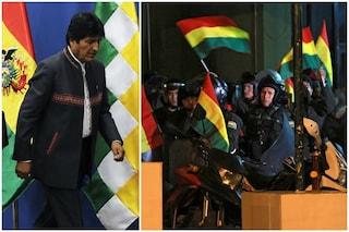 Bolivia, il presidente Evo Morales si arrende alle proteste e annuncia nuove elezioni