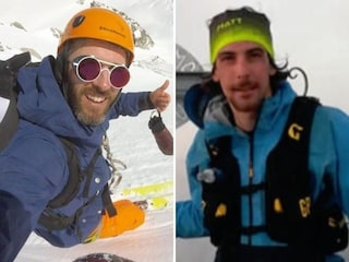 Edoardo e Luca, chi sono i due giovani scialpinisti uccisi dalla valanga sul Monte Bianco