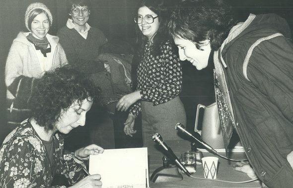 Margaret Atwood nel 1988.