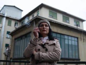 """Monica Marchi, una delle donne transgender (MtF, Male to Female) che hanno partecipato al progetto """"Trans of Turin""""."""