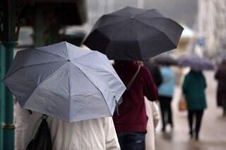 Previsioni meteo 2 dicembre: piogge sulle regioni centrali, vento forte al sud