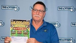 """La storia di """"Mister Fortuna"""": in un anno vince due volte alla lotteria un milione di dollari"""
