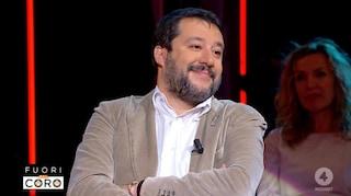 """Matteo Salvini: """"Sardine? Preferisco i gattini che se le mangiano quando hanno fame"""""""