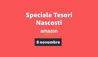 Speciale Tesori Nascosti Amazon: gli sconti fino al 65% validi solo per oggi