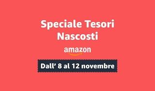 Speciale Tesori Nascosti: sconti oltre il 60% su Amazon, fino a mezzanotte