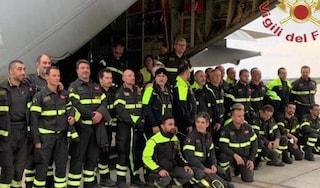 """Terremoto Albania, i vigili del fuoco italiani a lavoro tra le macerie: """"Mai perdere la speranza"""""""