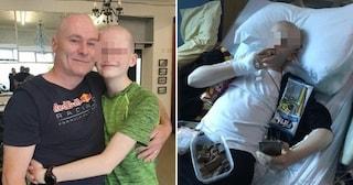 """Non mangia più niente. I medici: """"Ha un disturbo alimentare"""". Ma Chris aveva 4 tumori al cervello"""