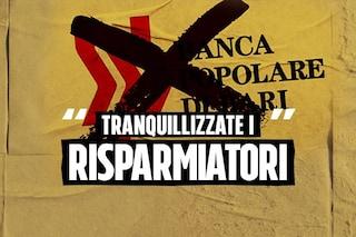 Popolare di Bari, gli audio dello scandalo erano usati per rassicurare i clienti