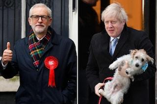Exit poll Gran Bretagna, Conservatori avanti: maggioranza schiacciante per Johnson