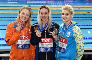 Europei di nuoto 2019, Margherita Panziera vince la medaglia d'oro nei 200 dorso