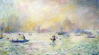 Pierre-Auguste Renoir, Venezia (1881), Clark Art Institute, Williamstown, Massachusetts.