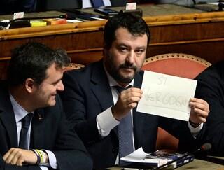 """Mes, Salvini:""""Conte-Pinocchio scherza con i risparmi degli italiani: M5S la pensa come noi"""""""