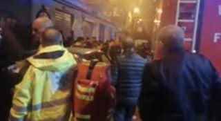 Paura a Palermo, incendio sorprende gli abitanti del palazzo: 4 anziani salvati dai carabinieri