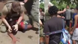 Agente in servizio prende a pugni 15enne in strada e gli sbatte la testa a terra, licenziato