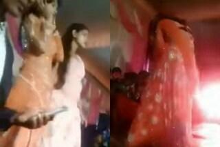 India, matrimonio choc: ballerina smette di ballare, gli invitati le sparano in faccia