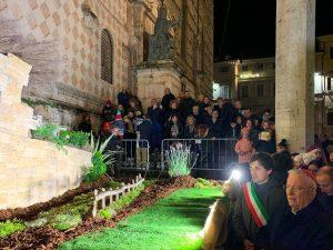 Presepe di Perugia (Facebook).