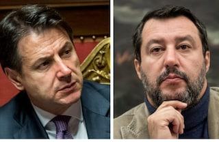 """Conte: """"Salvini va contro interessi nazionali"""". Leader Lega : """"È lui che crea sfiducia"""""""