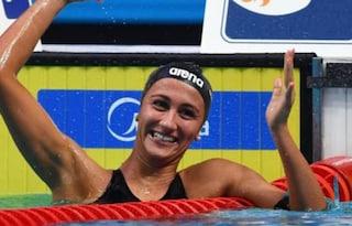 Elena Di Liddo, argento nei 100 metri farfalla agli Europei di Nuoto