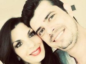 Domenico con la moglie Marianna (Facebook).