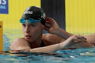 Federica Pellegrini seconda nei 50 stile degli Assoluti di nuoto, vince Silvia Di Pietro